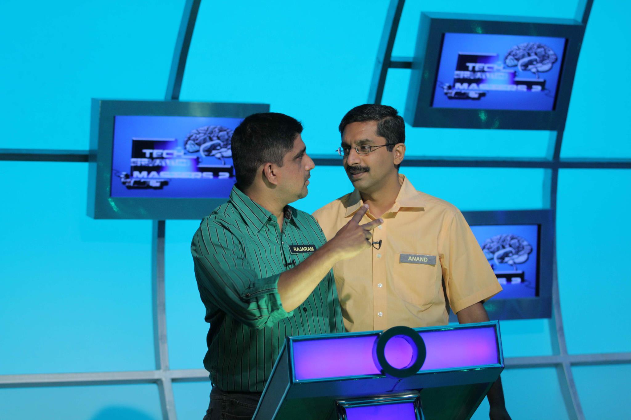 ndtv croma tech grandmasters quiz show